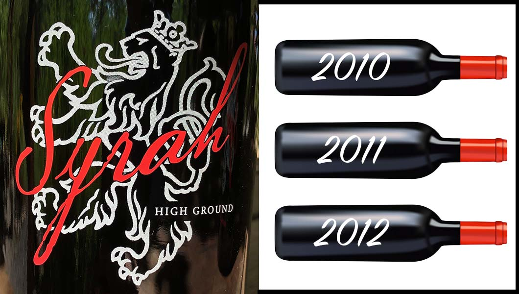 Product Image for High Ground Syrah Vertical 2010/2011/2012